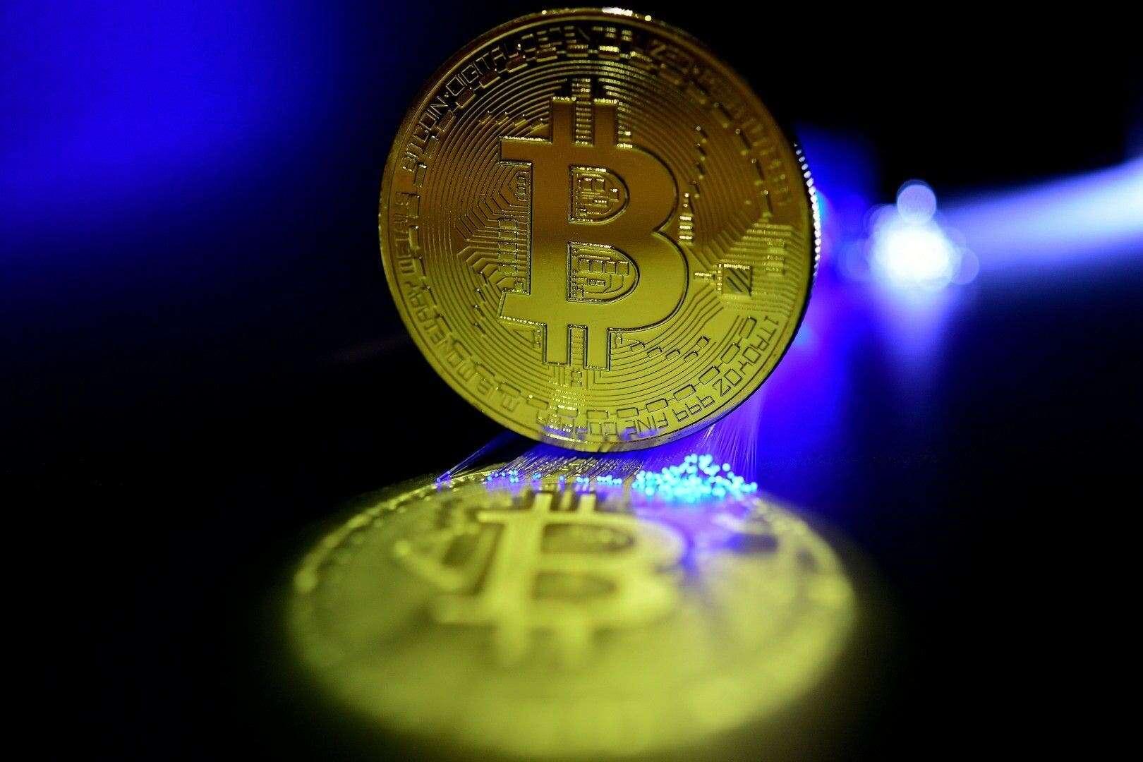 Moneda de bitcoin, la criptomoneda más extendida