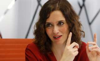 Isabel Díaz Ayuso, presidenta de la Comunidad de Madrid. EFE