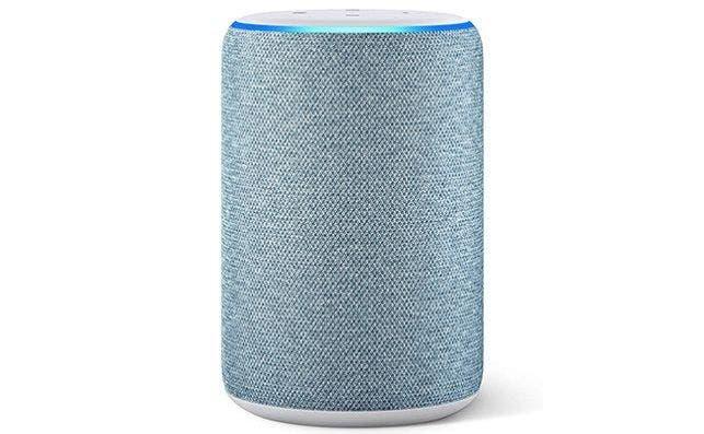 Altavoz inteligente Echo con asistente digital Alexa, de Amazon