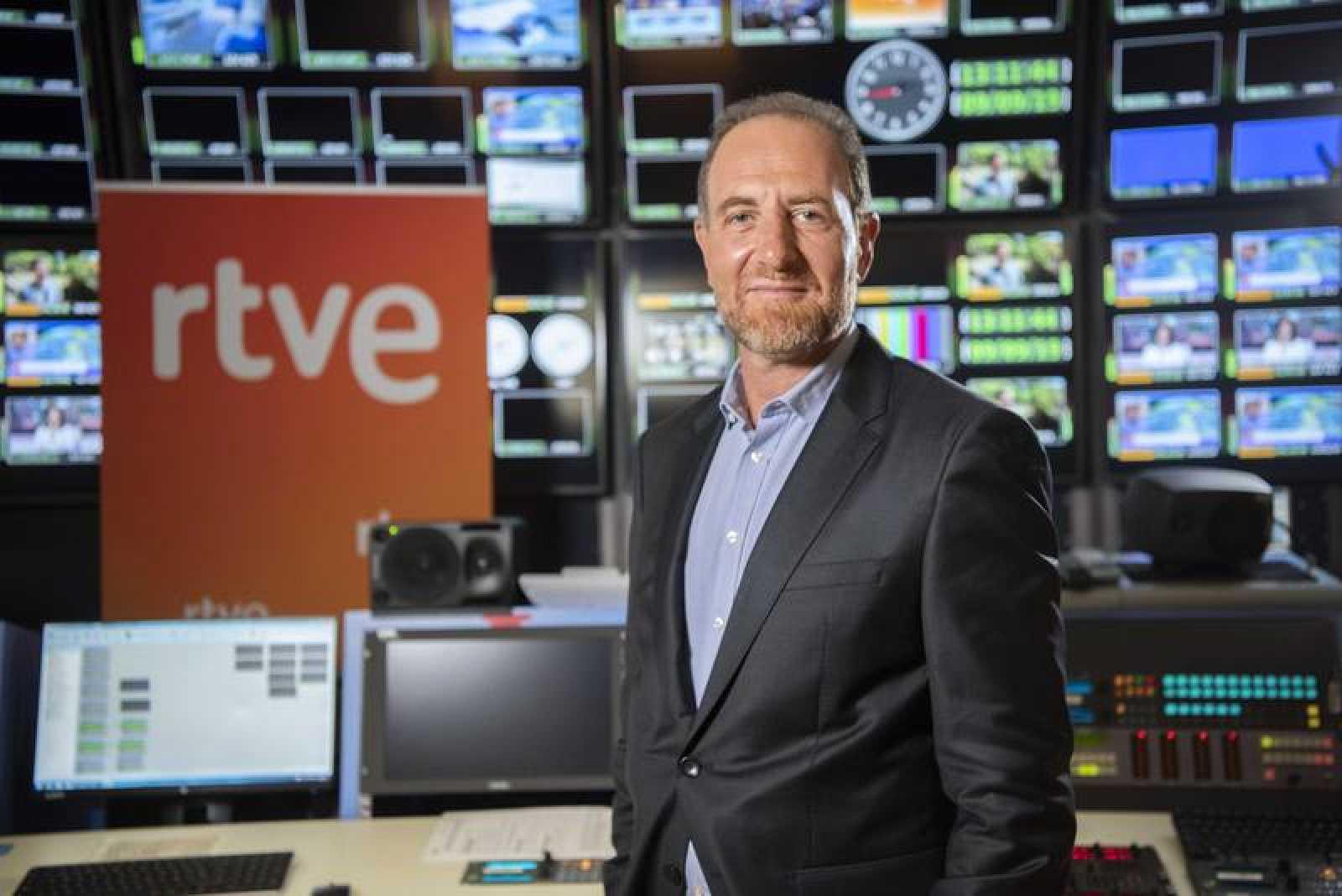 El jefe de informativos y actualidad de RTVE, Enric Hernández | RTVE/Archivo