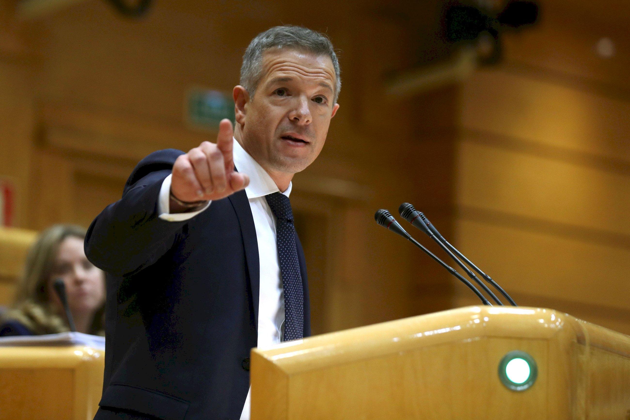 El portavoz del PSOE en el Senado, Ander Gil | EFE/Kiko Huesca/Archivo