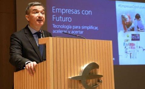 El consejero delegado de Ibercaja, Víctor Iglesias. EFE-JC-Archivo