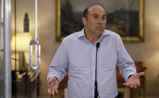 Jordi García Viña,  director de Relaciones Laborales de la CEOE y catedrático de derecho al Trabajo de la Universidad de Barcelona. /EFE/Mariscal