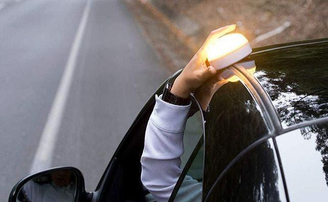 luz preseñalizacion emergencia coche amazon
