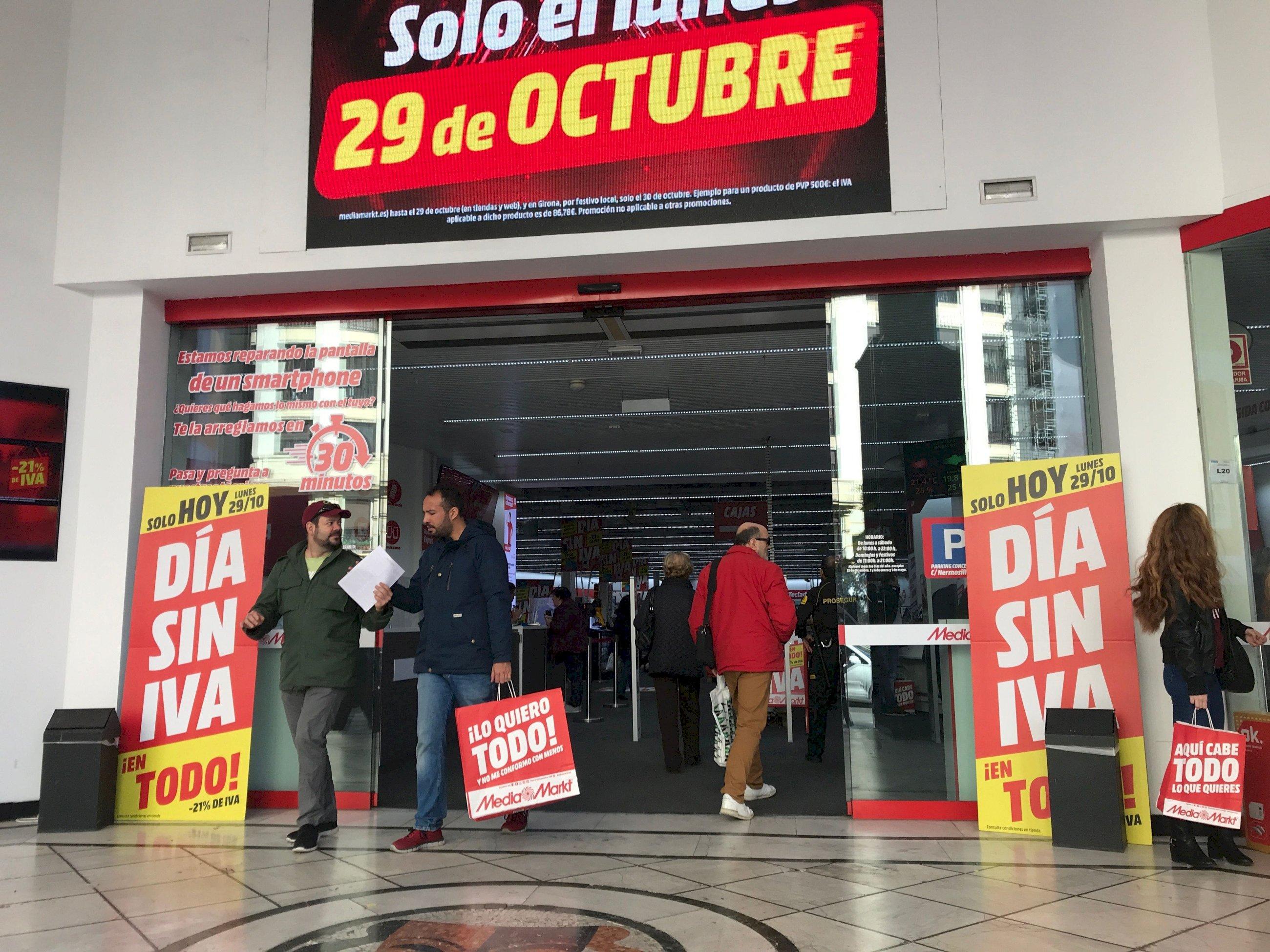 Pillamos A Media Markt Con El Timo Del Día Sin Iva