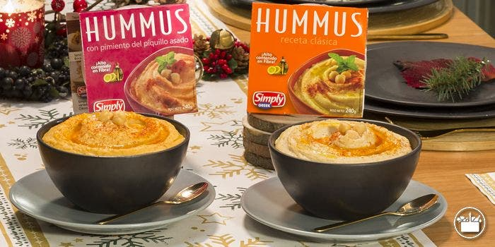 Hummus de Mercadona.