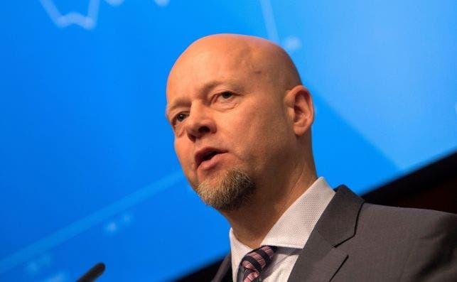 Yngve Slyngstad es el CEO del banco de inversión noruego Norges. EFE