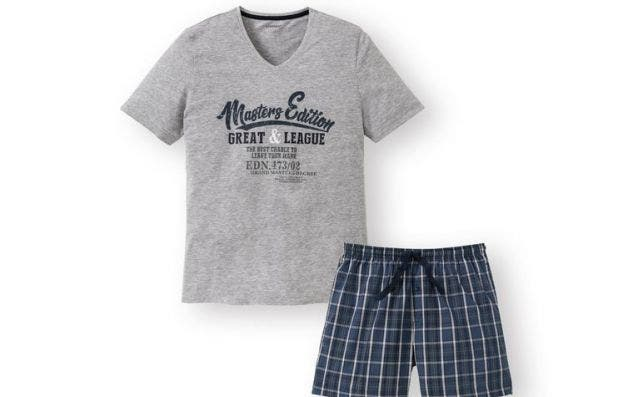Pijama de hombre de verano barato de Lidl, una ganga que cuesta menos que una sandía / EFE