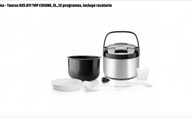 El robot de cocina barato Taurus 925.011 Top Cuisine que vende Mediamarkt