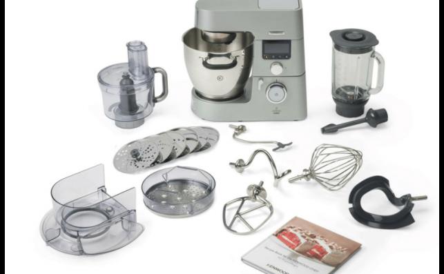 Robot de cocina Kenwood Cooking Chef KCC9060S, rival de Thermomix