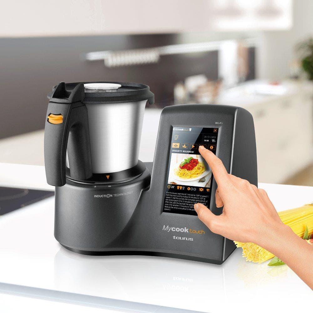 Los robots de cocina Taurus, competidores de las Thermomix, el arma de El Corte Inglés para competir con Mediamarkt. Foto: Amazon