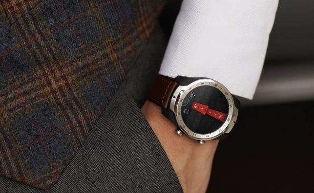 Un 'smartwatch' con dos pantallas y hasta 30 días de batería. Fotografía: Ticwatch