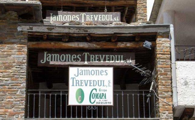 El secadero del jamón Trevedul en Trevélez, una de las marcas de Comapa que la dirección impulsada por Vall Companys eliminó