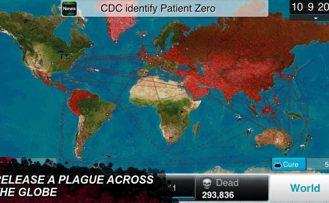 Imagen del videojuego Plague Inc. en Google Play Store