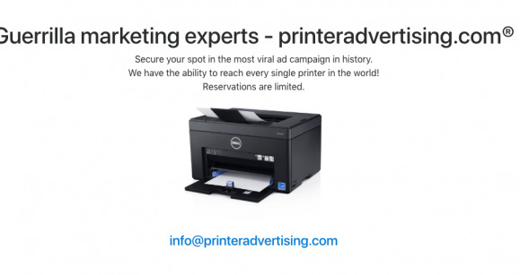 web impresora spam