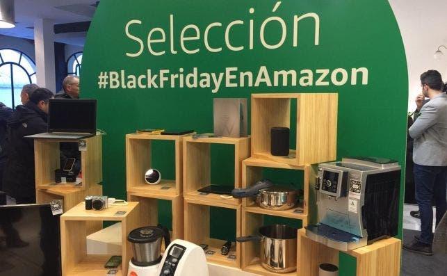 Selección de productos en Casa Amazon, la tienda pop-up del gigante electrónico para el Black Friday