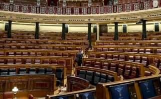 Imagen de archivo del Congreso de los Diputados vacío./ EFE