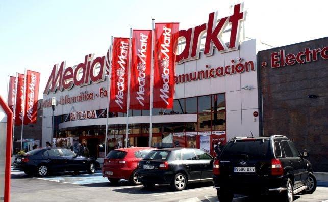 Un establecimiento de Mediamarkt. Foto: Efe