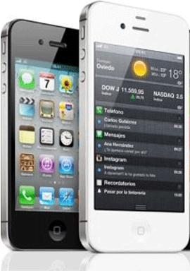 Modelos iPhone 4S.