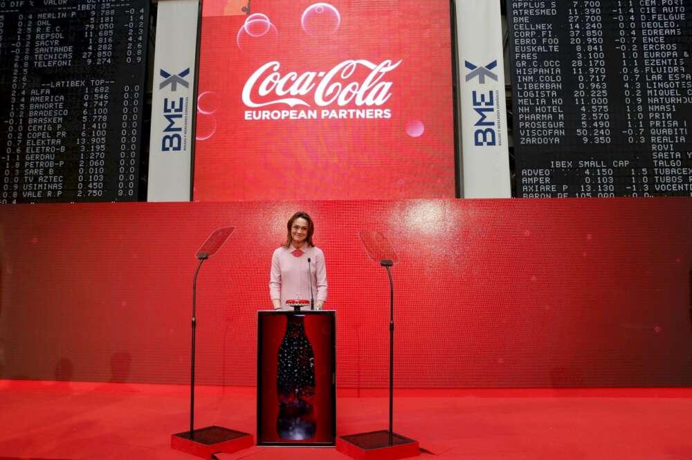 La presidenta de Coca-Cola European Partners, Sol Daurella. EFE/Ballesteros