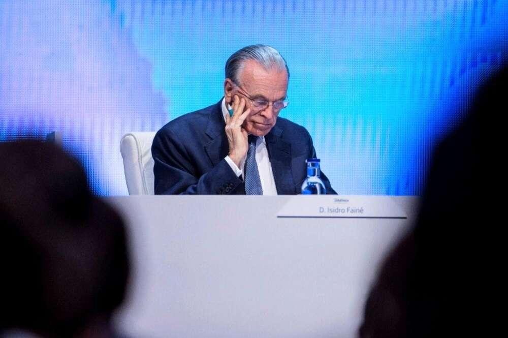 Isidro Fainé, presidente de la Fundación Bancaria La Caixa y Criteria. EFE