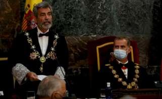 El presidente del Consejo General del Poder Judicial (CGPJ), Carlos Lesmes./ EFE