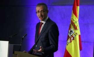 Pablo Hernandez de Cos, gobernador del Banco de España./ EFE