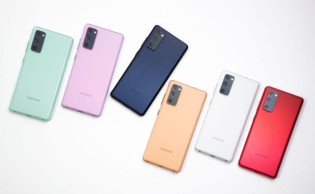 El Samsung Galaxy S20 FE está disponible con o sin 5G y en seis colores