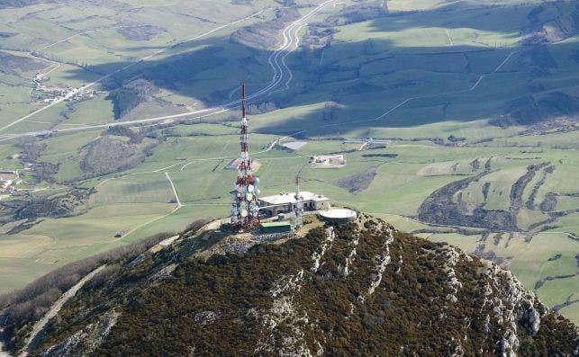 En la imagen, una infraestructura de Cellnex. Fuente: Cellnex