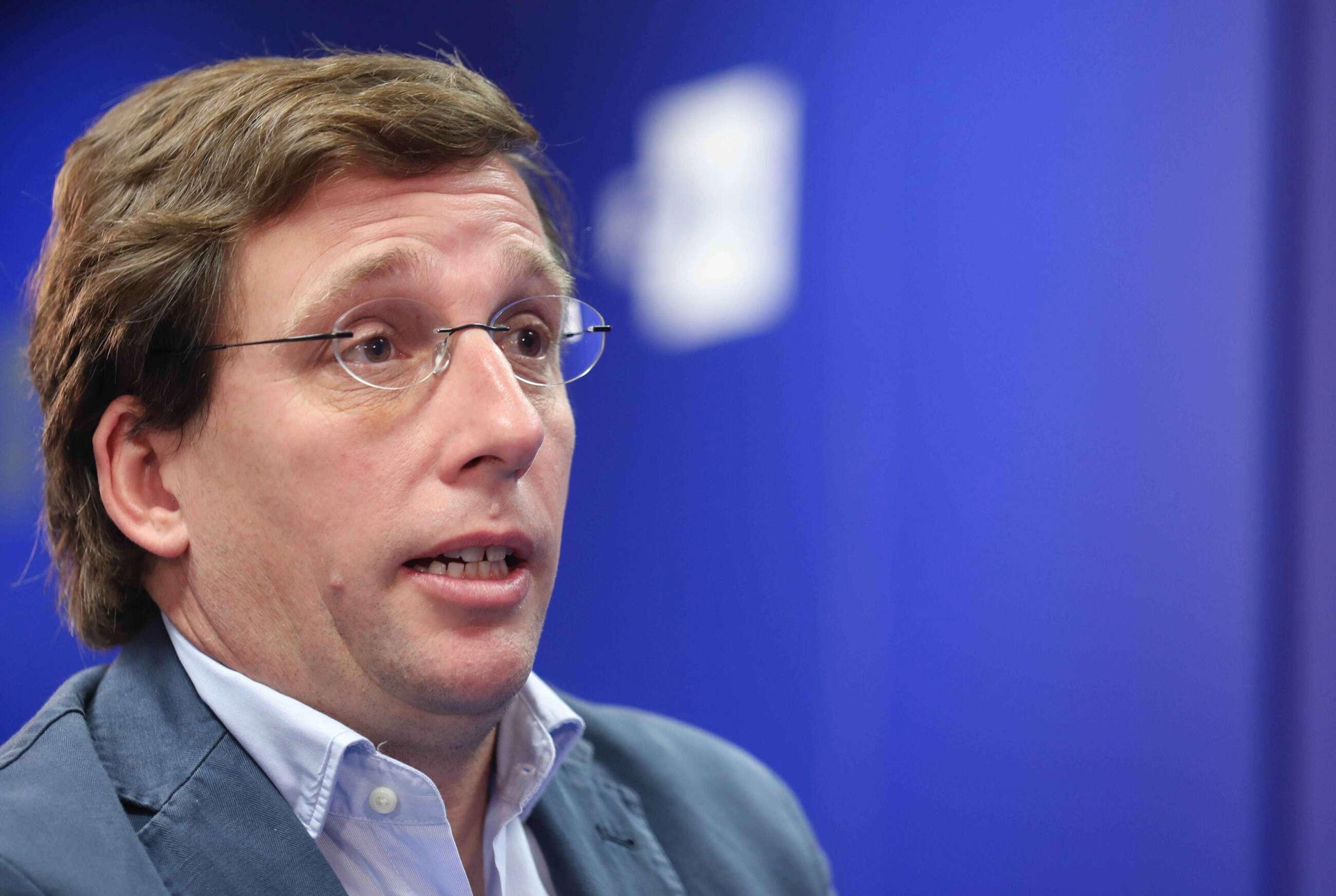 El alcalde de Madrid y portavoz nacional del Partido Popular, José Luis Martínez Almeida