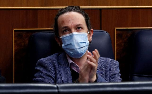 El vicepresidente segundo del Gobierno, Pablo Iglesias./ EFE