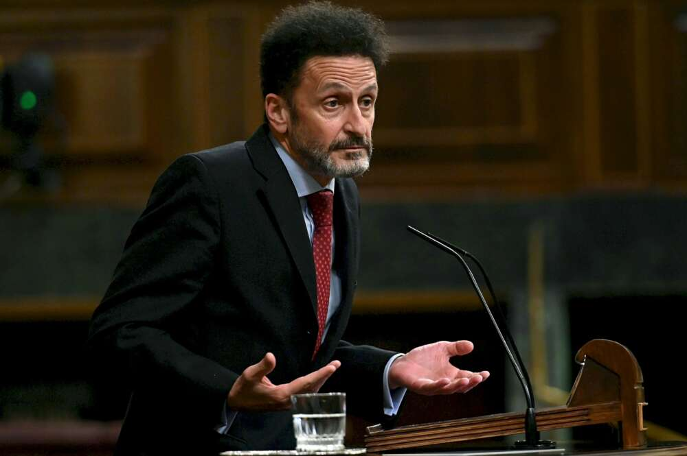 El portavoz de Ciudadanos en el Congreso, Edmundo Bal, en el pleno del Congreso del 17 de noviembre de 2020   EFE/FV/Archivo