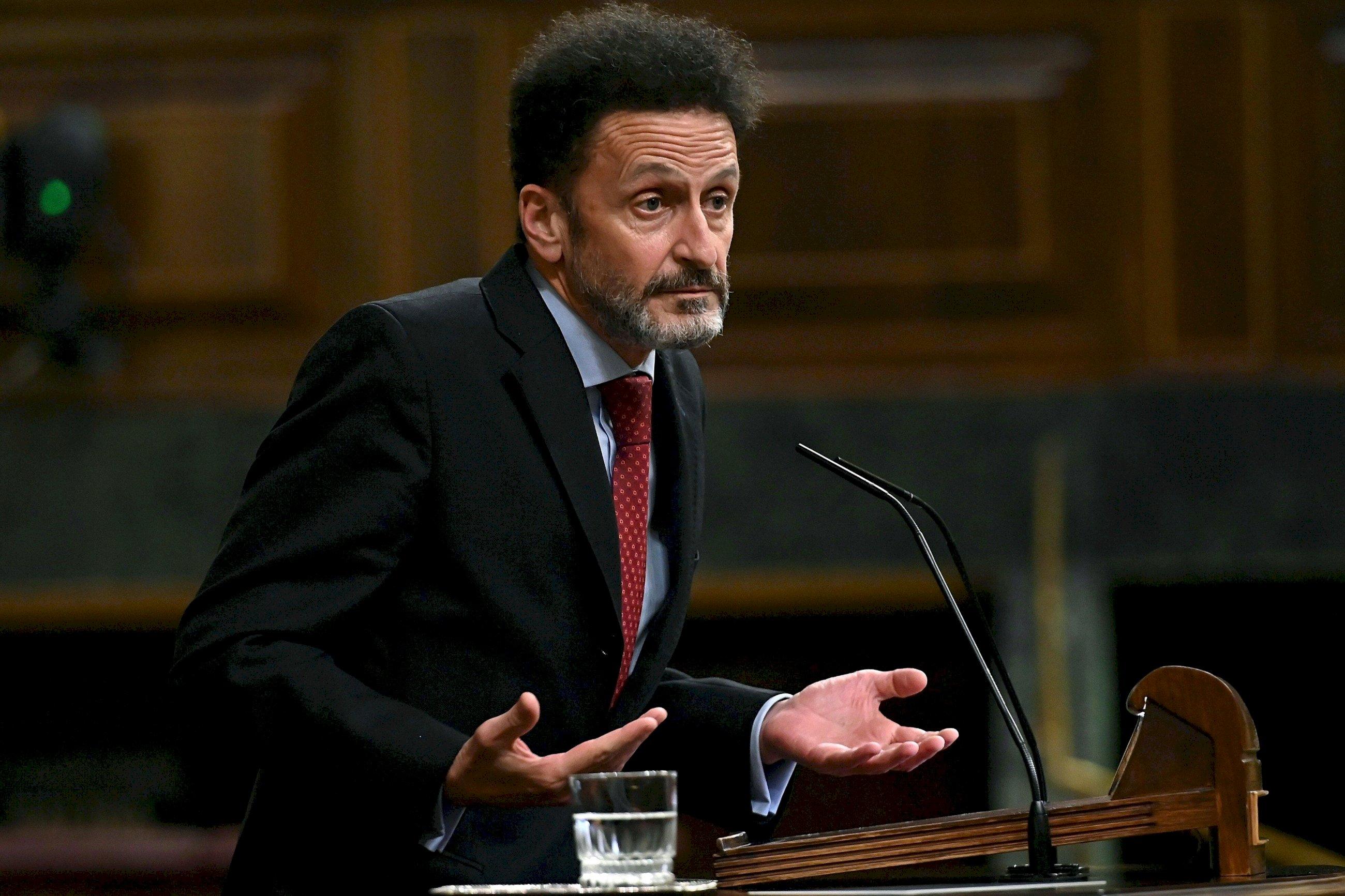 El portavoz de Ciudadanos en el Congreso, Edmundo Bal, en el pleno del Congreso del 17 de noviembre de 2020 | EFE/FV/Archivo