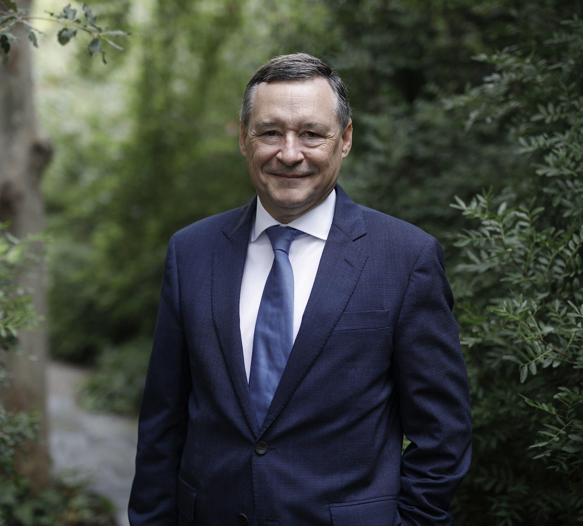 Cruz Roja distingue a Ángel Simón, presidente de Agbar, por su labor durante la pandemia