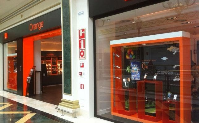 Una tienda de Orange en España. Fuente: Orange