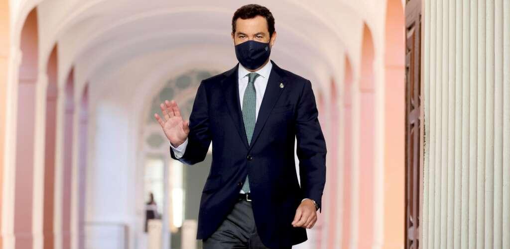 El presidente de la Junta de Andalucía, Juanma Moreno / EFE