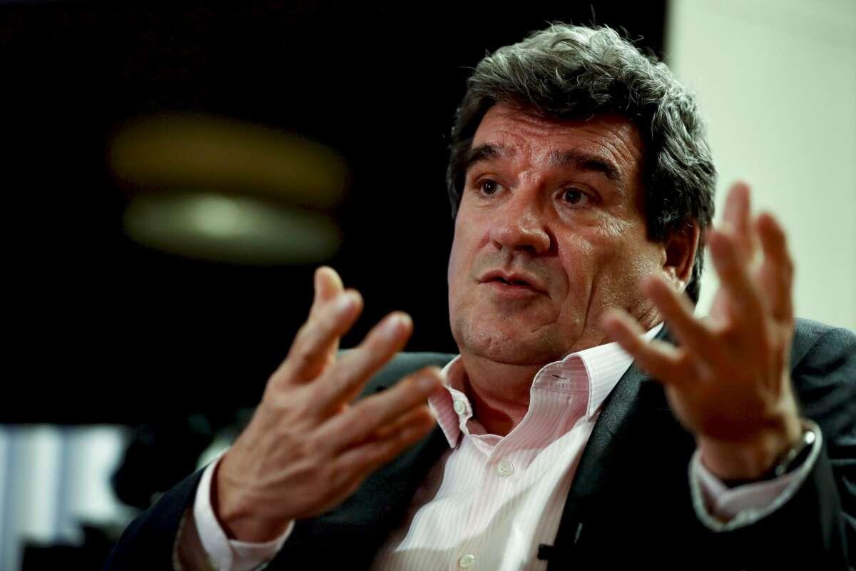 """El ministro de Inclusión, Seguridad Social y Migraciones, José Luis Escrivá, admite que subir el SMI puede tener un impacto """"limitado"""" en el empleo/ EFE"""