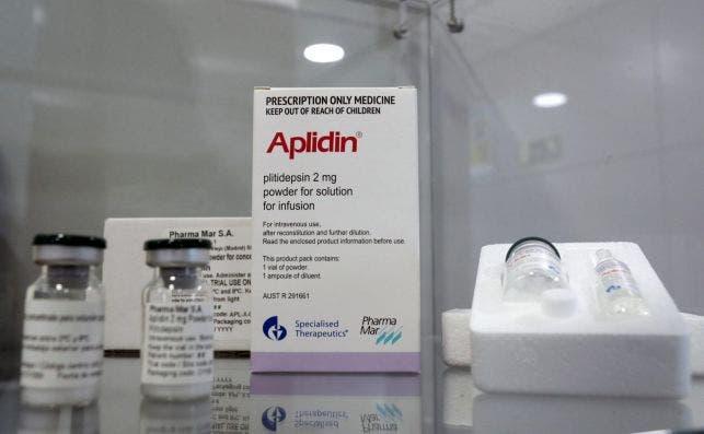 Aplidin, el medicamento que desarrolla la farmacéutica española Pharma Mar./ EFE