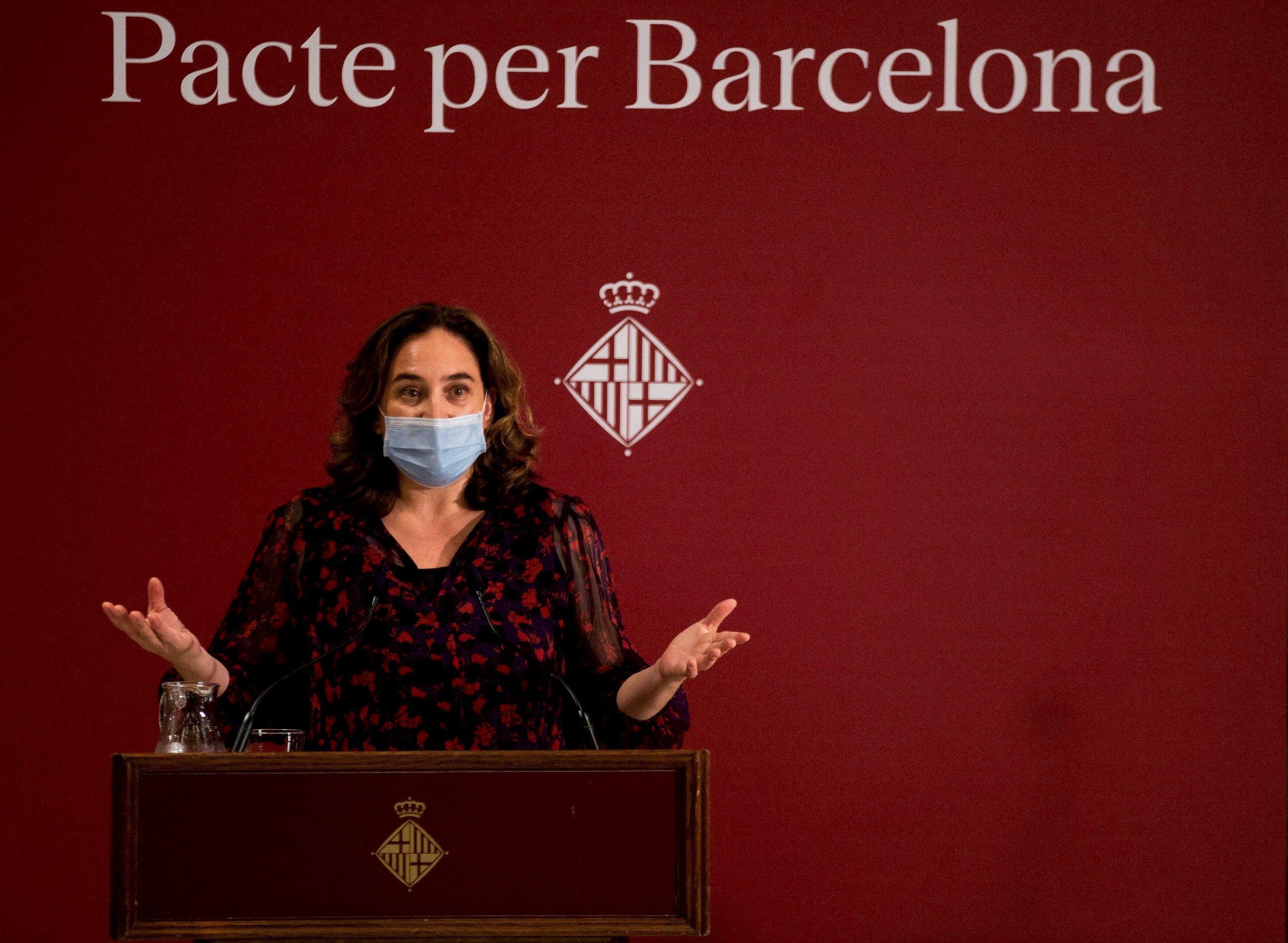 Ada Colau, alcaldesa de Barcelona, en un acto en 2020 | EFE/EF/Archivo