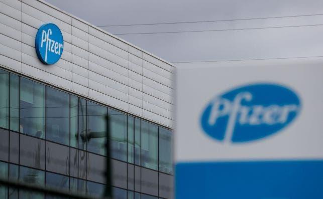 La planta de Pfizer en Amberes, Bélgica, el 16 de noviembre de 2020, una semana después de anunciarse la eficacia del 90% de su vacuna de coronavirus | EFE/EPA/SL