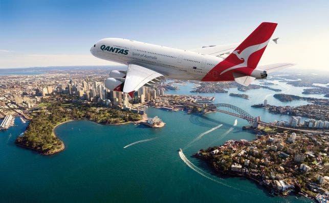 Por primera vez los A380 realizan una ruta sin escalas entre Australia y Europa. Foto: Qantas
