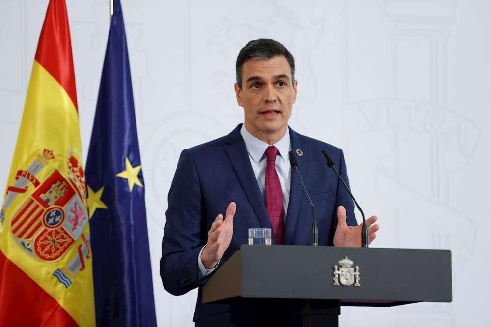 Pedro Sánchez hace balance del año tras la última reunión del Consejo de Ministros de 2020.