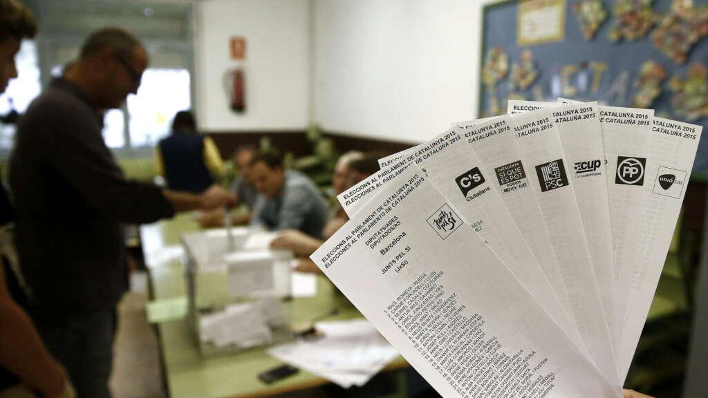 Imagen de archivo de las elecciones generales celebradas el 28 de abril de 2019./ EFE