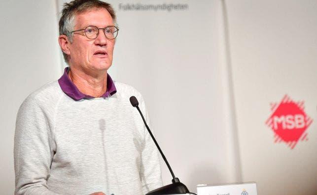 Anders Tegnell, epidemiólogo y jefe de la Agencia de Salud Pública de Suecia, vaticina un año y medio para el fin de la pandemia. EFE