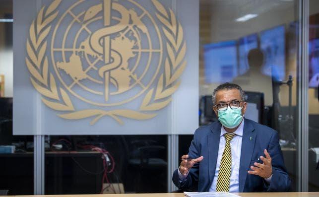 El director general de la OMS, Tedros Adhanom Ghebreyesus./ EFE