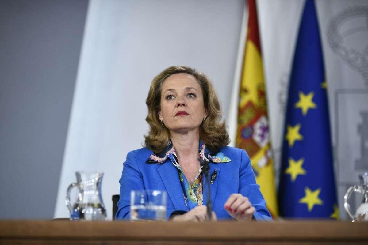 Nadia Calviño, vicepresidenta económica del Gobierno. EFE