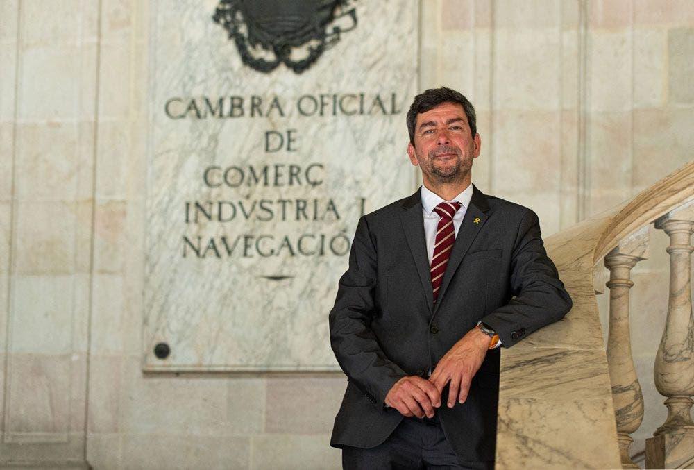 Joan Canadell, presidente de la Cámara de Comercio de Barcelona. /PRESS CAMBRABCN