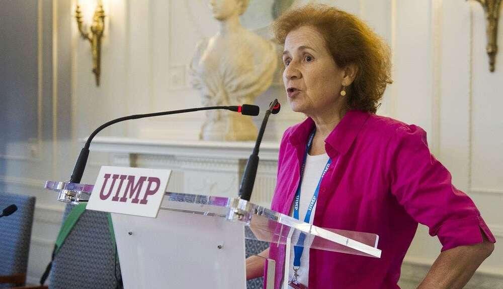 Margarita del Val, la reputada viróloga que se ha convertido en uno de los rostros visibles durante la pandemia/ UIMP