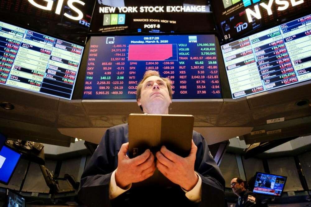 Imagen de archivo de la Bolsa de Nueva York./ EFE