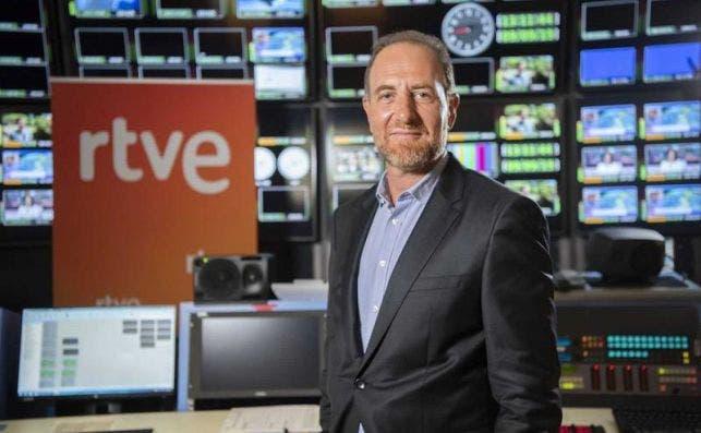 El jefe de informativos y actualidad de RTVE, Enric Hernández